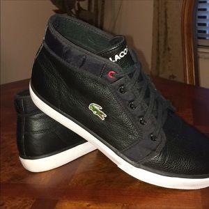 """4235b455bd59d Lacoste Shoes - 🐊LACOSTE """"ASPARTA"""" MID-TOP SNEAKER 🐊"""
